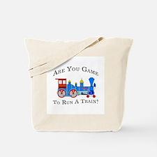 Game To Run A Train -  Tote Bag