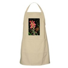 Pink Flowers BBQ Apron