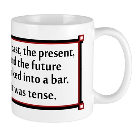 The past, present and future walked into a bar...
