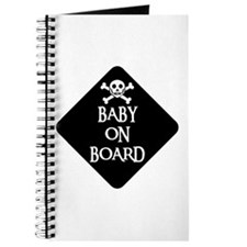 WARNING: BABY ON BOARD Journal