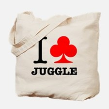 I Club Juggle Tote Bag