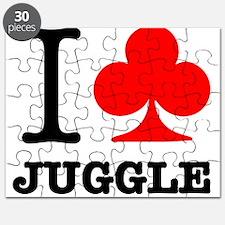 I Club Juggle Puzzle