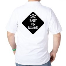 WARNING: BABY ON BOARD T-Shirt
