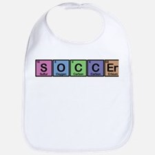 Soccer made of Elements colors Bib