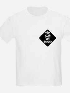 WARNING: BABY ON BOARD Kids T-Shirt