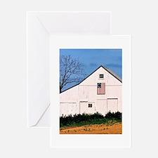 American Barns No. 2 Greeting Card