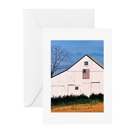 American Barns No. 2 Greeting Cards (Pk of 10)