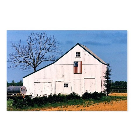 American Barns No. 2 Postcards (Package of 8)