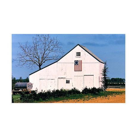 American Barns No. 2 35x21 Wall Decal
