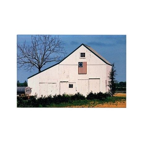 American Barns No. 2 Rectangle Magnet (10 pack)