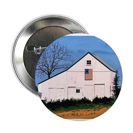 """American Barns No. 2 2.25"""" Button (10 pack)"""