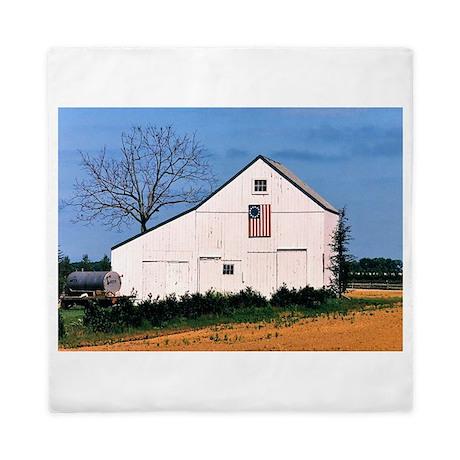 American Barns No. 2 Queen Duvet