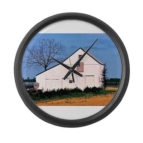 American Barns No. 2 Large Wall Clock