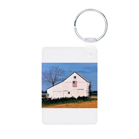 American Barns No. 2 Aluminum Photo Keychain