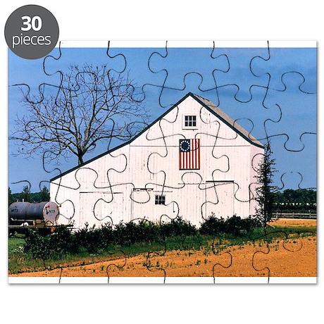 American Barns No. 2 Puzzle