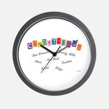 Cindythings Int'l. Wall Clock