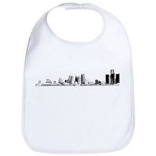 Detroit Skyline Bib