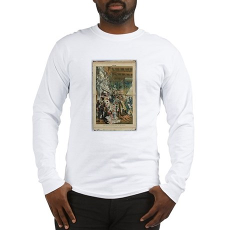"Illustration from ""Puck"" April 1883 Long Sleeve T-"