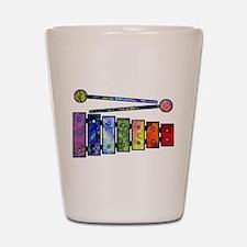 Wild Xylophone Shot Glass