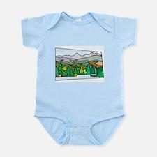 Mountain Infant Bodysuit
