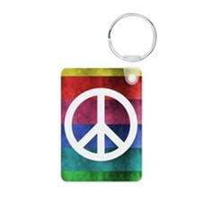 Colorful Peace Keychains