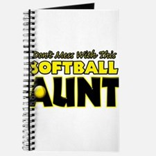 Dont Mess With This Softball Aunt.png Journal