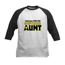 Dont Mess With This Softball Aunt.png Tee