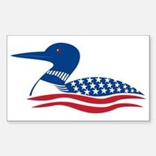 Proud Loon: Rectangle Decal
