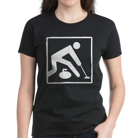 CurlingWhite T-Shirt