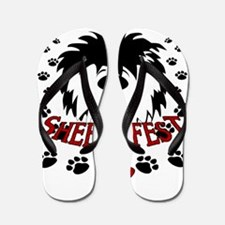 Sheepiefest 8 Flip Flops