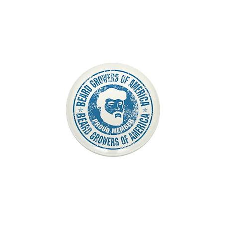 Beard Grower Mini Button (10 pack)
