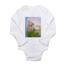 Dandelion Wishing Fairy Long Sleeve Infant Bodysui