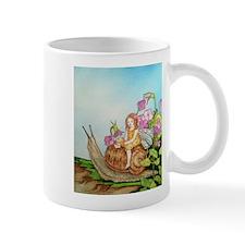 Snail Ride Through The Violets Mug