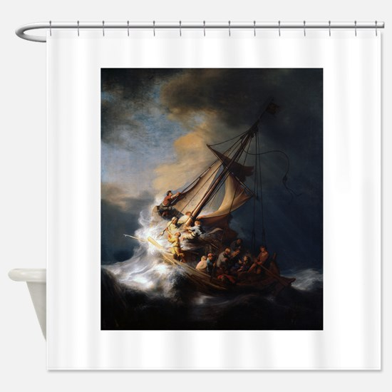 rembrant3.png Shower Curtain