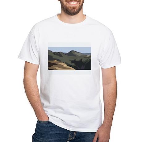 Mountain White T-Shirt