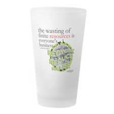twilight green4.png Frosted Drinking Glass