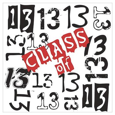 Mosaic Class of 2013 Wall Art Poster
