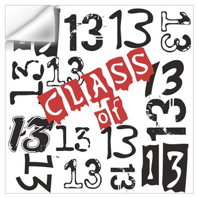 Mosaic Class of 2013 Wall Art Wall Decal