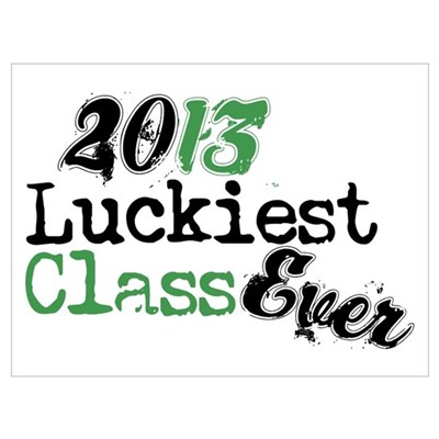 Funny Class OF 2013 Wall Art Canvas Art
