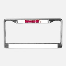Nurses are HOT License Plate Frame