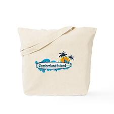 Cumberland Island GA - Surf Design. Tote Bag