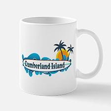 Cumberland Island GA - Surf Design. Mug