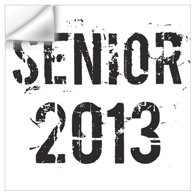 Grunge Senior 2013 Wall Art Wall Decal