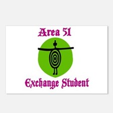 Area 51 Exchange Student Postcards (Package of 8)