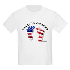 """Made in America"" Kids T-Shirt"