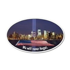 9/11 Tribute - Never Forget Wall Decal