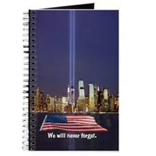 9/11 Tribute - Never Forget Journal