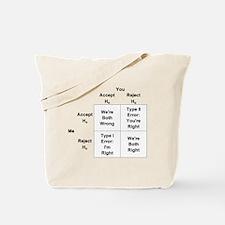Type I and II Errors Tote Bag