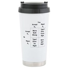 Type I and II Errors Travel Mug