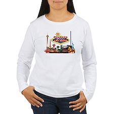 Vegas Nite Lites Long Sleeve T-Shirt
